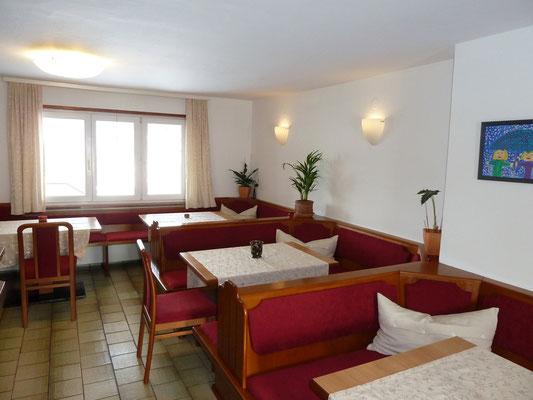 Frühstücksraum Gästehaus Haas