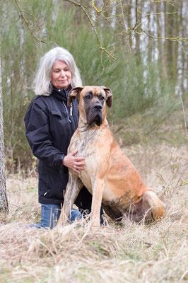 Hildegard Nottebaum mit Eduard