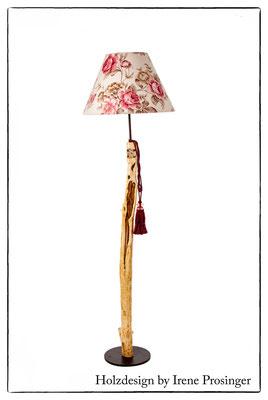 Stehlampe Rosengarten Holzdesign Irene Prosinger