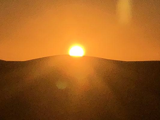 Sonnenuntergang im Erg Chegaga