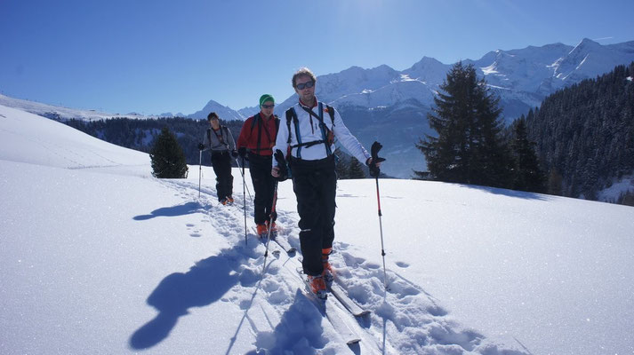 Skitour Almkogel - Tuxer Alpen - Februar 2013