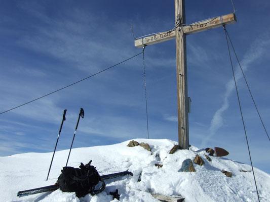 Skitour Tuxer Voralpen. Kaserer - Kristallner