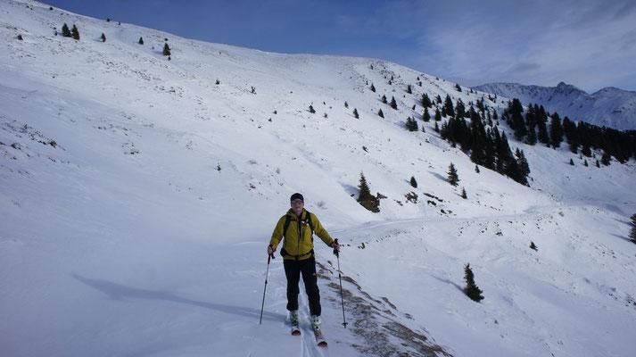 Skitour Torspitze im Dezember 2012