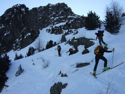 Durchquerung Ötztaler Alpen 27.3. - 1.4. Lazaunspitze - Kurzrass - Bellavista