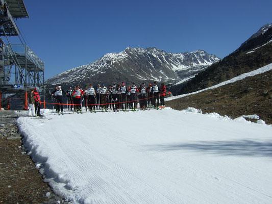 Bergführer-Weltmeisterschaft Sulden - Aufstiegsrennen Mai 2011
