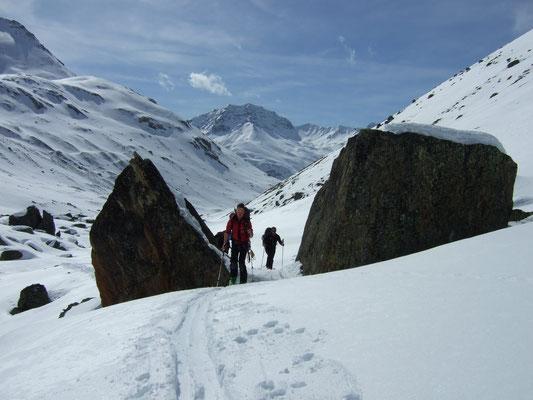 Augstenberg - Val Urschai - Furtschölpass