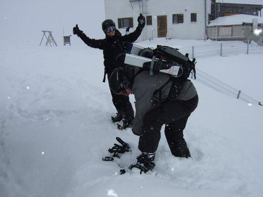Snowboard-Tourenwoche Tuxer Voralpen 21.2. - 24.2.11