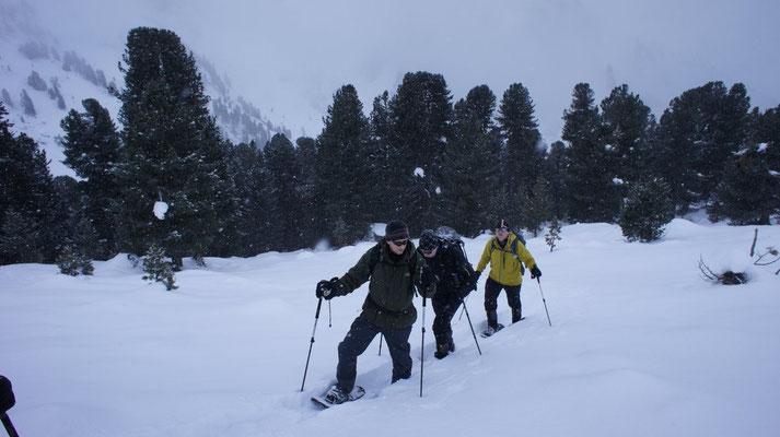 Schneeschuhwandern Tettensjoch
