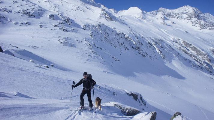 anspruchsvolle Skitour Rauchkofel 27.2.2013