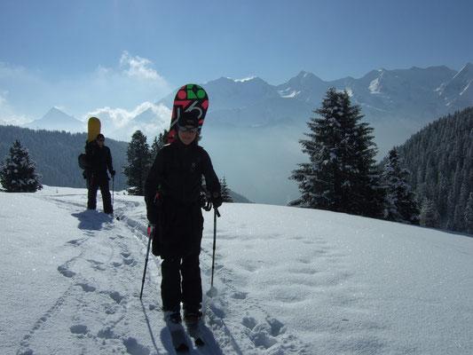 Snowboardtour Hobarjoch