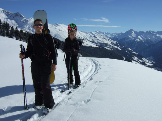 Snowboardtour Torspitze