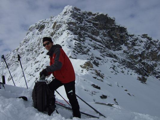 Skitour Torwand