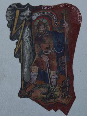 Hl. Bernhard - Schutzpatron der Bergführer