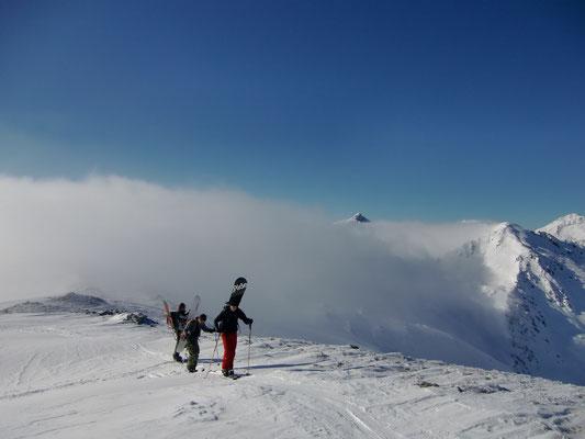 Ski- und Snowboardtour Halslspitz
