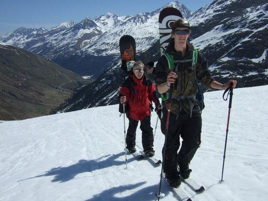 Snowboard-Durchquerung Ötztaler Alpen