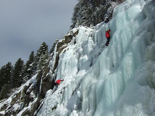 Eiskletterkurs Dezember 2010