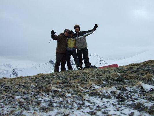 Snowboardtouren Tuxer Voraplen