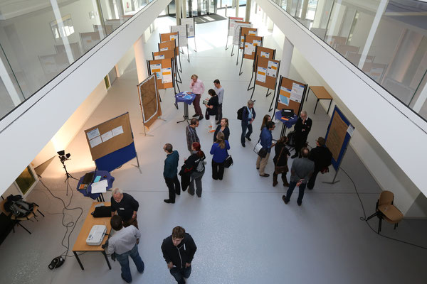 Foyer, Posterpräsentationen