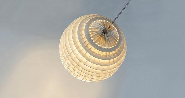 Lampe - Porzellan