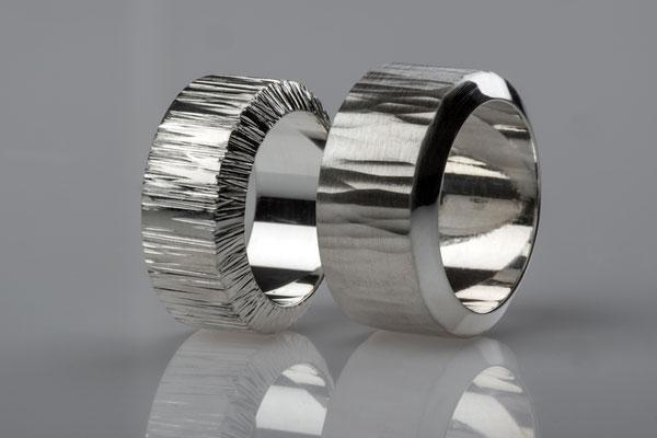 Gabriele Gote - Ringe - 925 Silber                        Foto: Robert Wilken