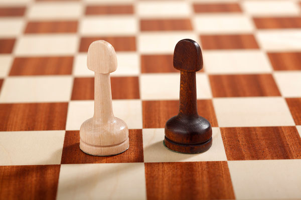 Großes Schach 10x10 Pfeil
