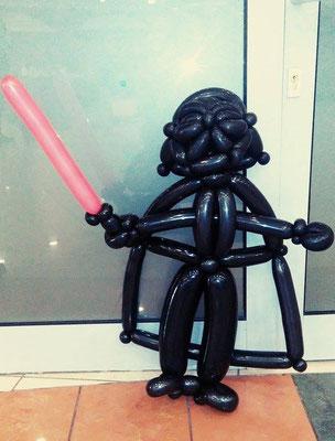 Lord Vader z balonów - 39 zł