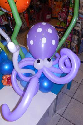 Ośmiornica z balonów - 19 zł