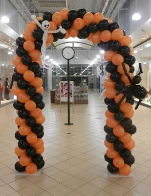 balonowa brama - akcja promocyjna, Halloween