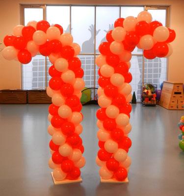 Koluma lizak z balonów - 120 zł