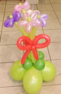 bukiet z kwiatków balonowych