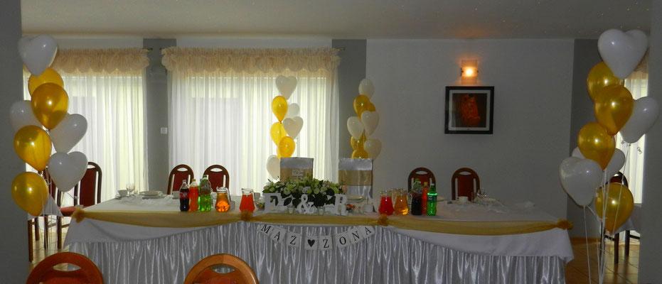 dekoracja balonami z helem Śląsk