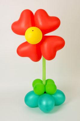 kwiatek z balonów