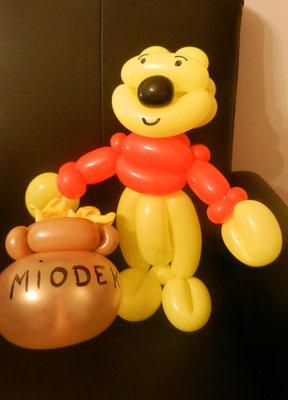 Puchatek z balonów - 15 zł
