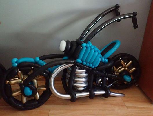 Motor z balonów - 250 zł