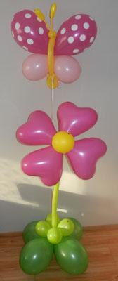 Kwiatek z motylkiem - 49 zł