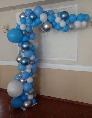 Girlanda z balonów nieregularna organiczna