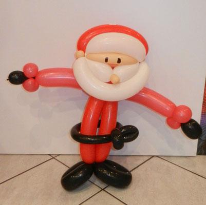 Mikołaj z balonów