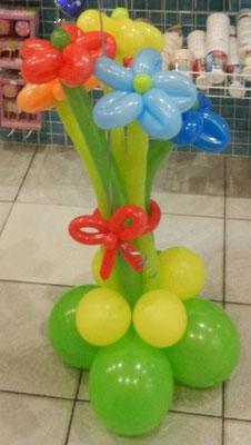 Bukiet stojący z balonów - 19 zl