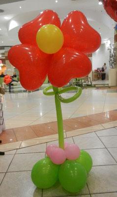 balonowy kwiatek