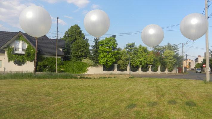 balony z hele kule