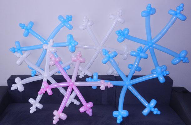 płatki z balonów