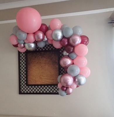 Girlanda z balonów organiczna