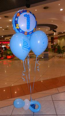 bukiet z balonów roczek chłopiec