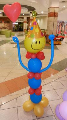 pajacyk balonowy
