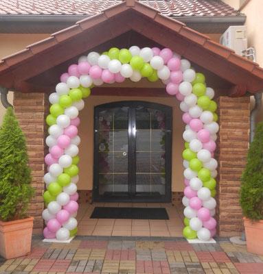 brama balonowa - ślub, wesele