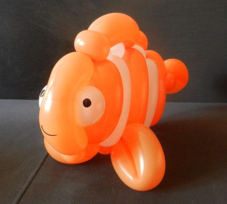 Rybka Nemo z balonów