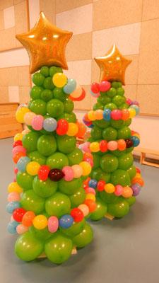 Choinka z balonów 2m - 200 zł