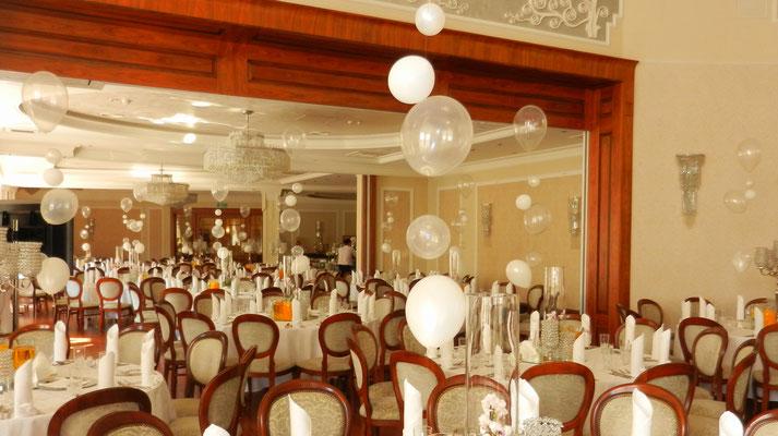 balony z helem dekorajca katowice bytom gliwice zabrze
