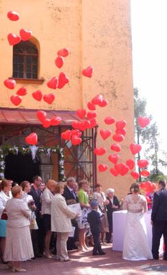 balony z kartonu