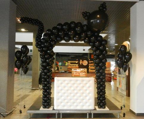 brama balonowa Śląsk
